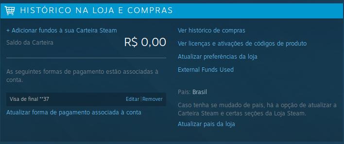 steam compras