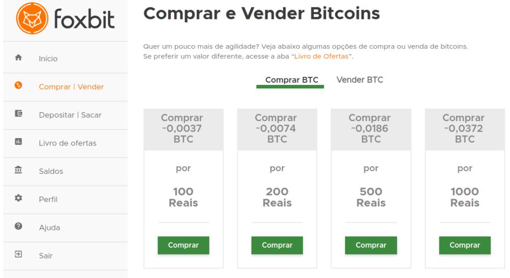 comprar e vender bitcoin