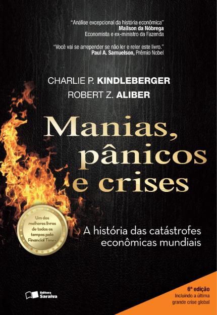 manias, pânicos e crises é um dos principais livros para quem quer começar a investir