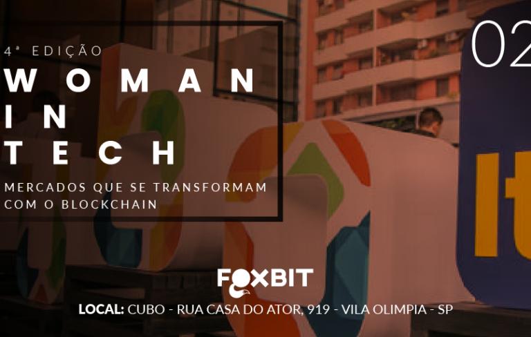 4ª Woman in Tech – Blockchain e suas revoluções