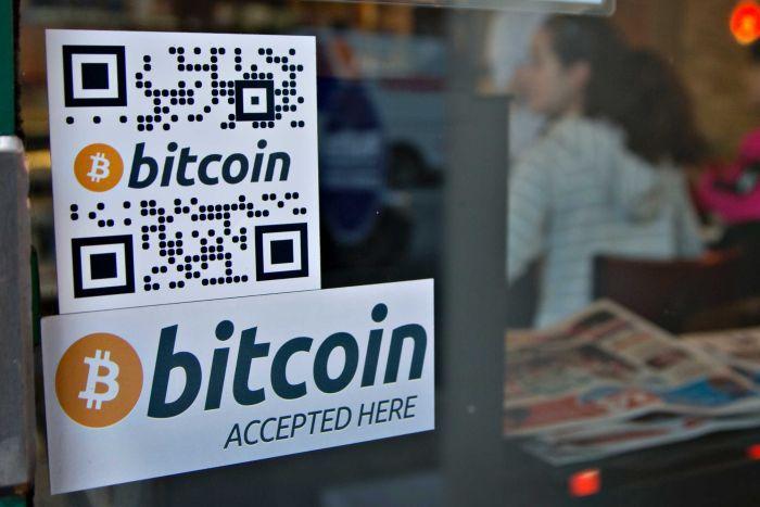 bitcoin aceito aqui
