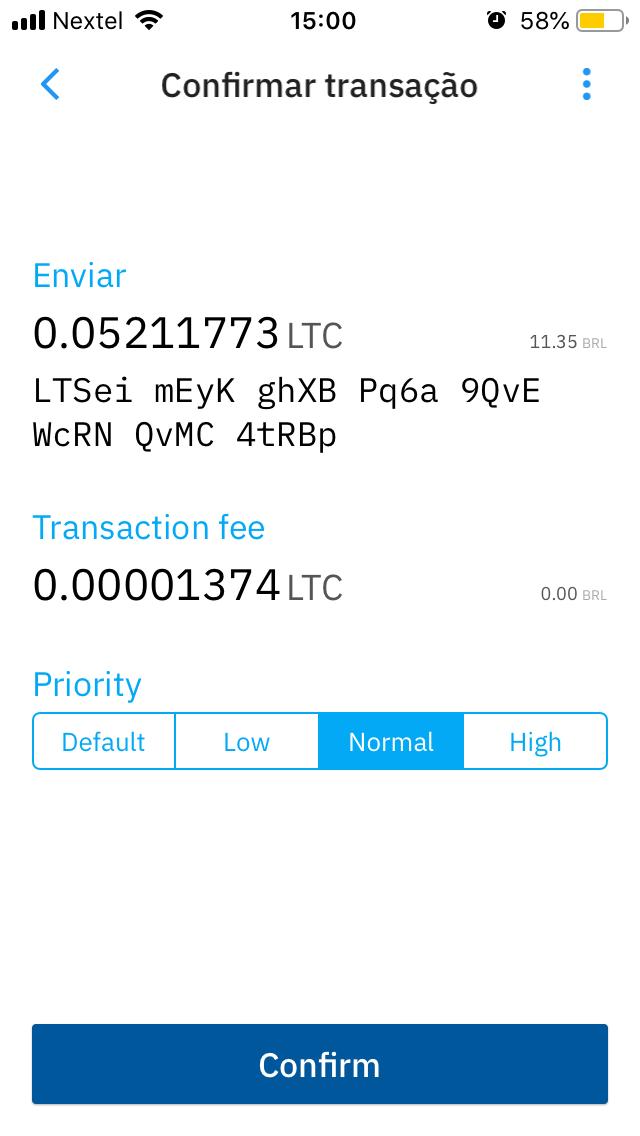 como fazer transações com Litecoin