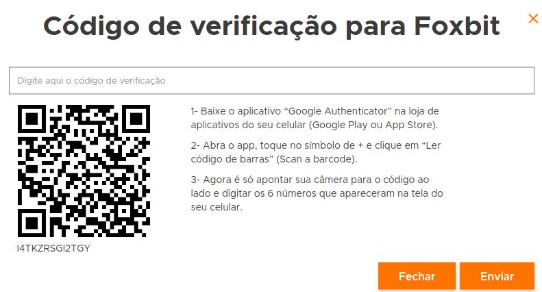 qr code foxbit 2fa tutorial