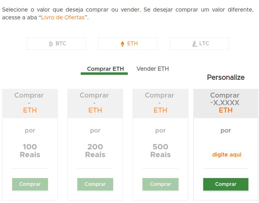 comprar e vender ethereum
