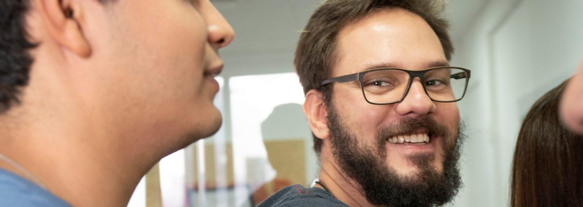 A cereja do bolo: trabalhar com educação Foxbit Lab