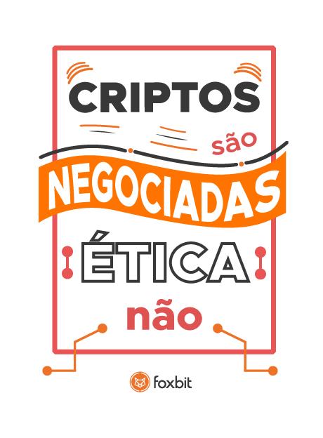Criptos são negociadas, ética não