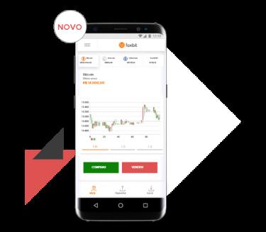 Compre e venda criptos agora pelo app