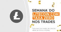 Foxbit party: Litecoin com taxa zero nos trades