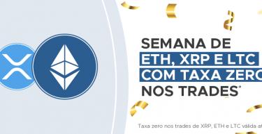Foxbit Party: Ether + XRP + Litecoin com taxa zero nos trades