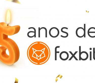 Aniversário de 5 anos da Foxbit: Como tudo começou, como chegamos até aqui