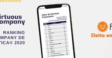 A Foxbit foi eleita entre empresas do segmento financeiro como uma das mais éticas do Brasil