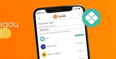 O Pix chegou na Foxbit com depósitos 24h todos os dias