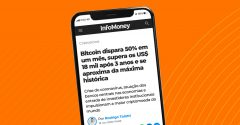 Bitcoin dispara 50% em um mês – Foxbit no InfoMoney