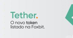 Tether: o novo token listado na Foxbit!