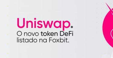 Uniswap, o novo token DeFi listado na Foxbit!
