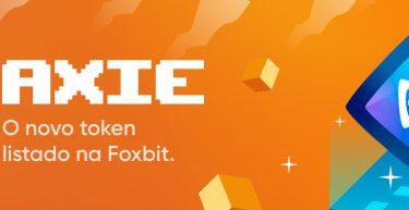 Axie Infinity (AXS) entrou para o nosso portfólio!