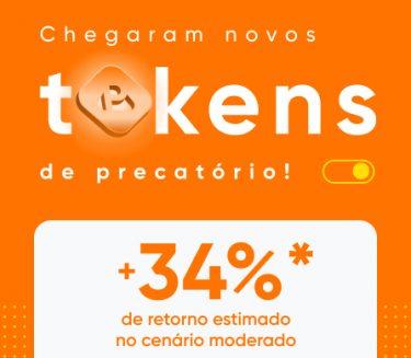 Novos tokens de precatório com investimento a partir de R$50.